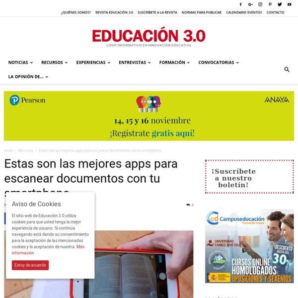 Éstas son las mejores apps para escanear documentos con tu smartphone