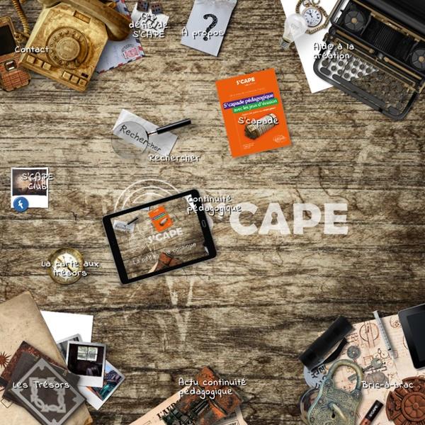 S'cape – Escape games pédagogiques