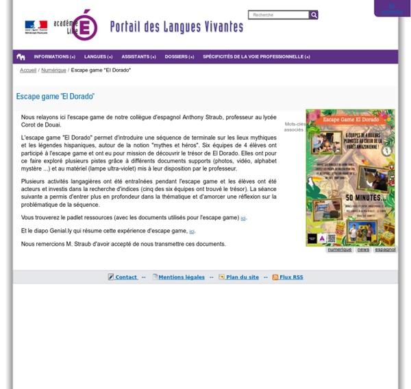 """Escape game """"El Dorado"""""""