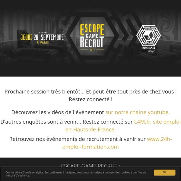 0517 GNE Escape Game Recrut