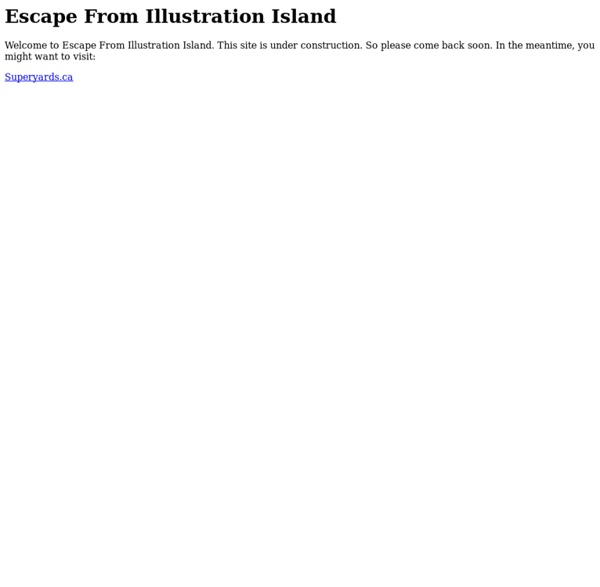 Escape From Illustration Island – Illustration Resources and Community