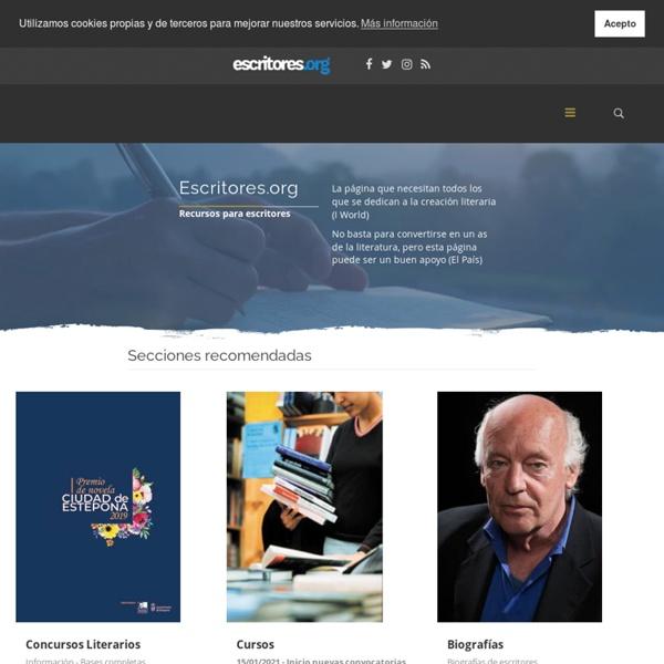 Escritores.org - Recursos para escritores