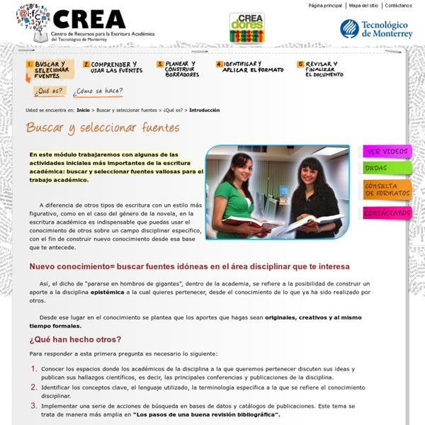 Escritura académica - Tecnológico de Monterrey