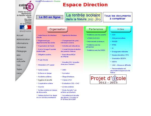 Espace direction