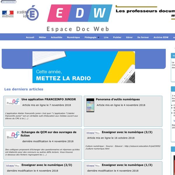 Espace Doc Web