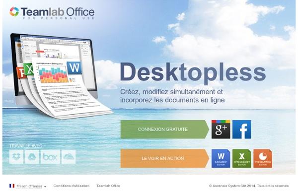 Teamlab Office - Espace de travail pour vos documents en ligne