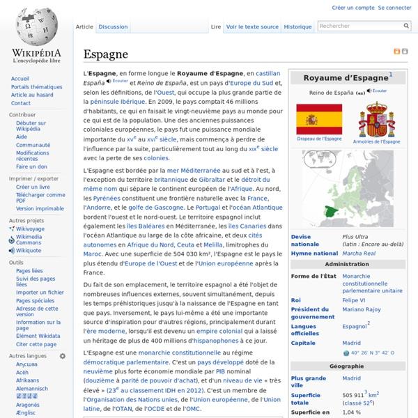Wikipédia Espagne