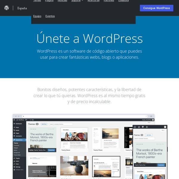 Español — WordPress