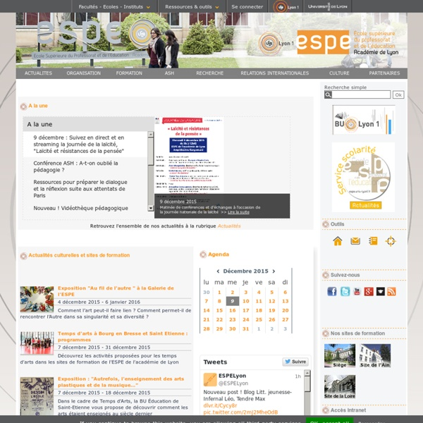 IUFM de Lyon - Didactique des mathématiques