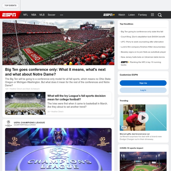 ESPN: The Worldwide Leader in Sports