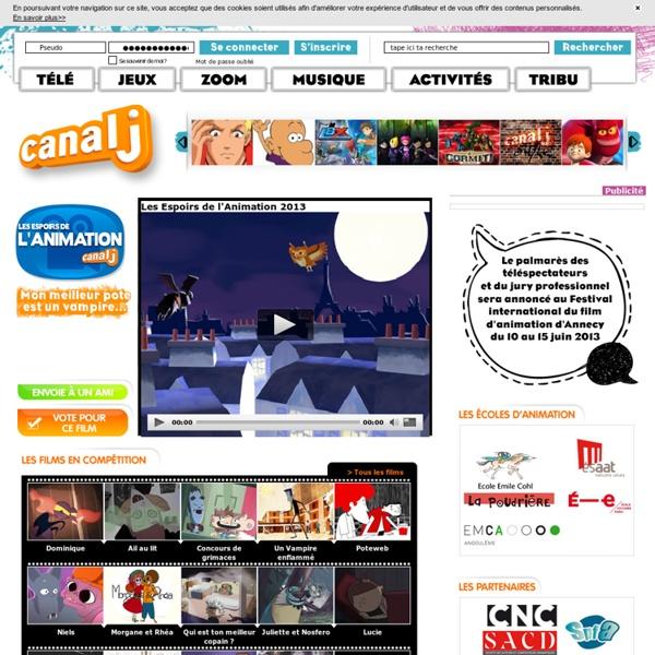 Espoirs de l'Animation- Canal J