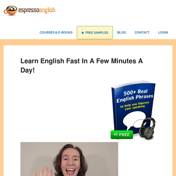 Espresso English — Everyday English Lessons