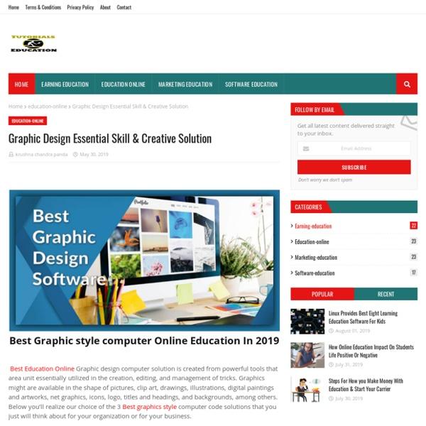 Graphic Design Essential Skill & Creative Solution