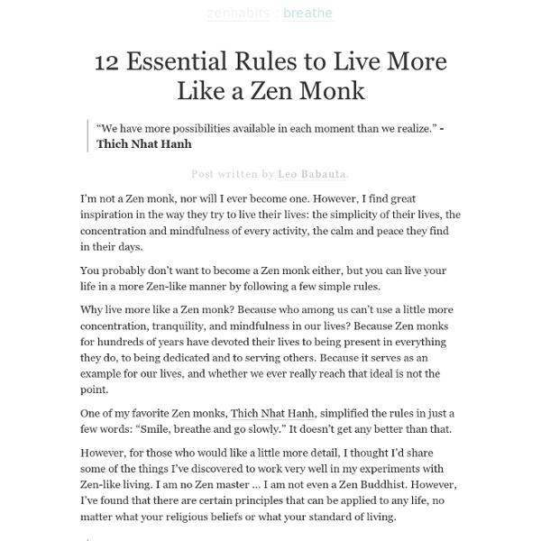 Zen Habits
