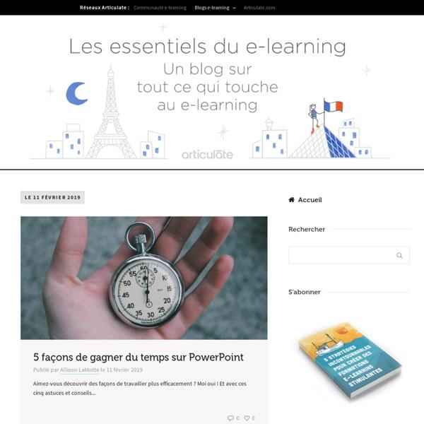 Les essentiels du e-learning - Blog e-learning en français