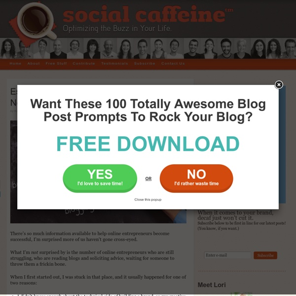 Establish the %$#! Out of Your Brand (Right Now!) with These 37 Free Resources