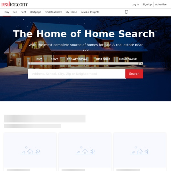 Find Real Estate Listings, School and Neighborhood Information and More