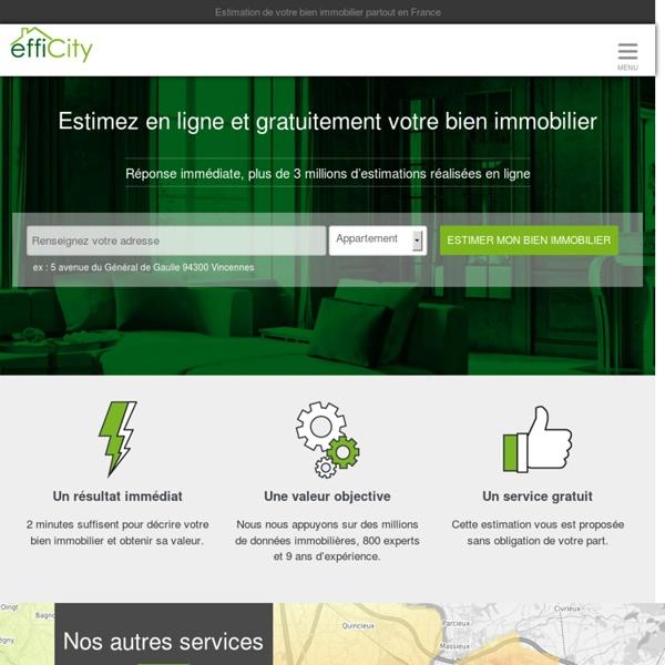 EffiCity, l'immobilier efficace : agence immobilière à Paris et France entière