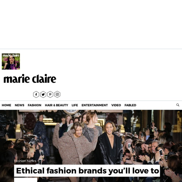 The Best Ethical Fashion Brands