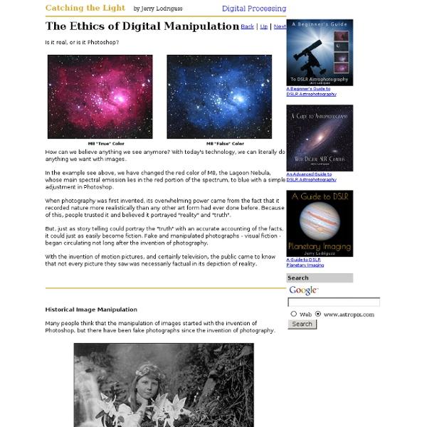 The Ethics of Digital Manipulation