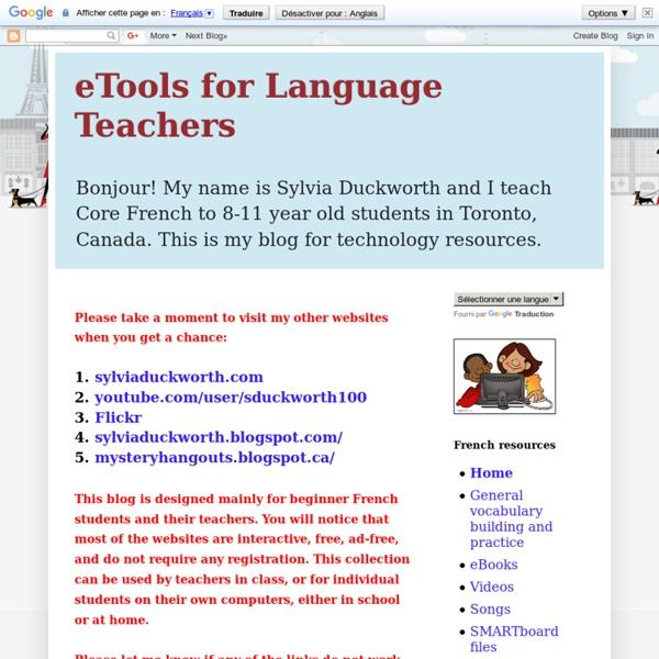 eTools for Language Teachers