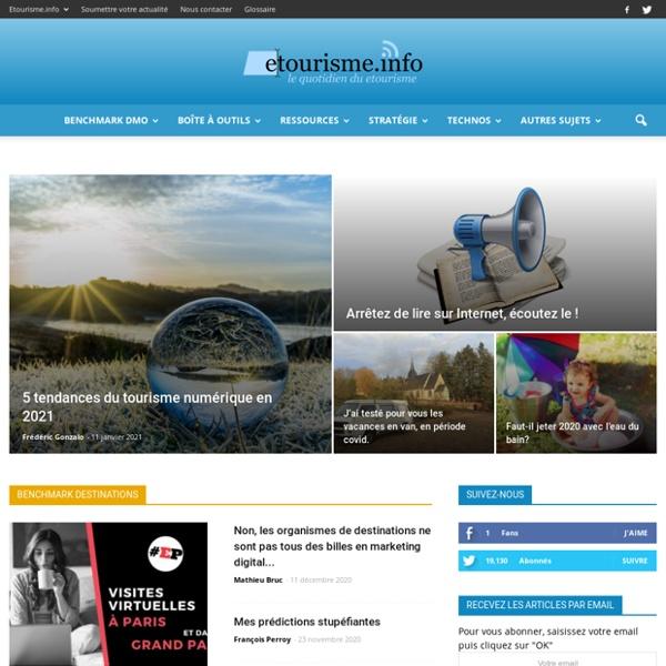 Etourisme.info : votre quotidien de l'e-tourisme