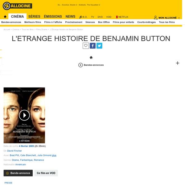 L'Etrange histoire de Benjamin Button - film 2008