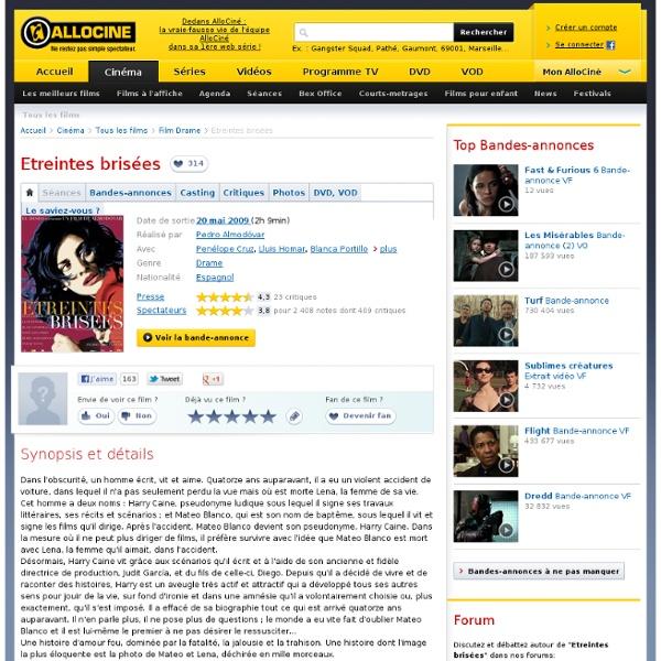 Etreintes brisées - film 2009