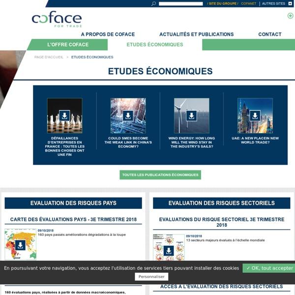 Les études économiques & analyses des risques pays