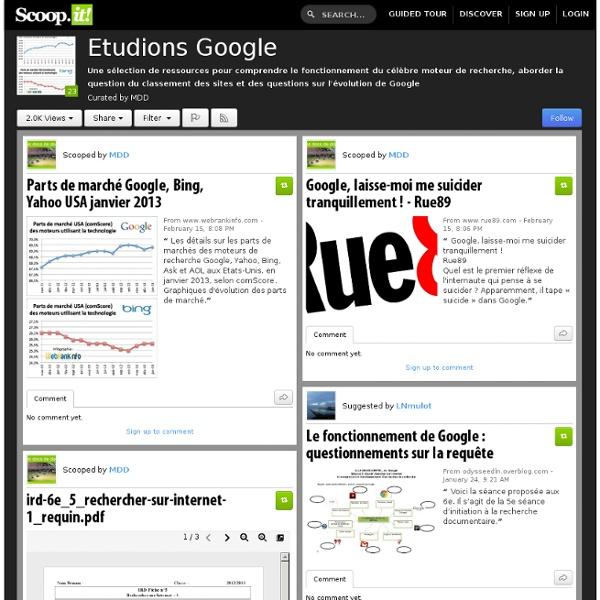 Etudions Google