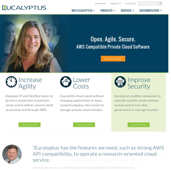Leader in AWS-compatible Private and Hybrid Cloud Software