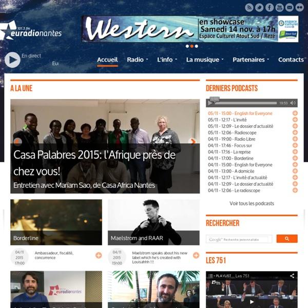 Euradionantes - Radio européenne nantaise accueil