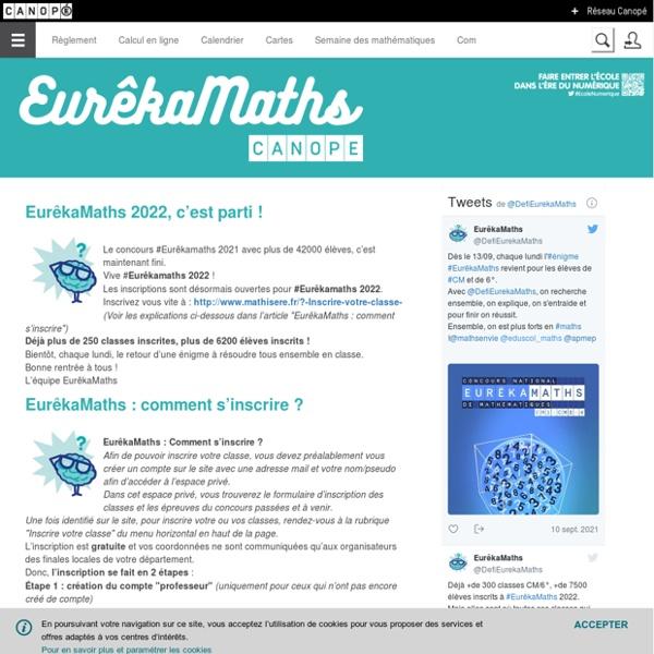 Math'Isère - Défi national de mathématiques