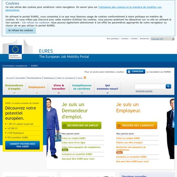 EURES : portail européen de l'emploi