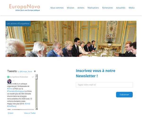 Bienvenue - Europanova