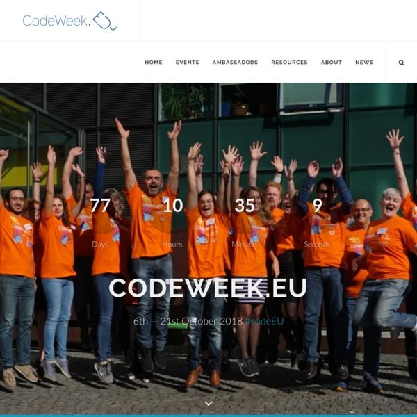 Europe Code Week 2016 - Europe Code Week