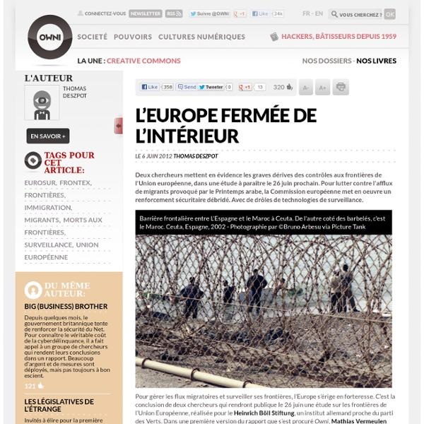 L'Europe fermée de l'intérieur