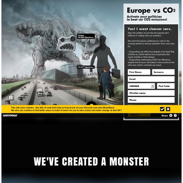Europe vs CO2