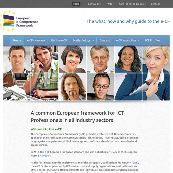 European e-Competence Framework