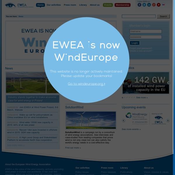 European Wind Energy Association - EWEA