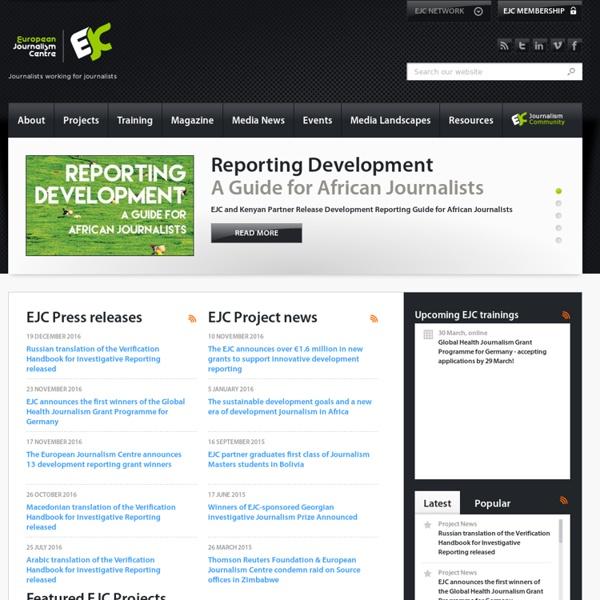 European Journalism Centre (EJC)