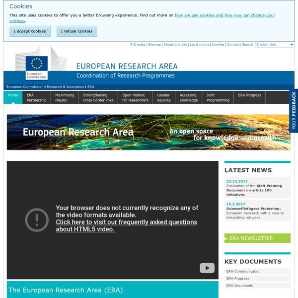 European Research Area - ERA