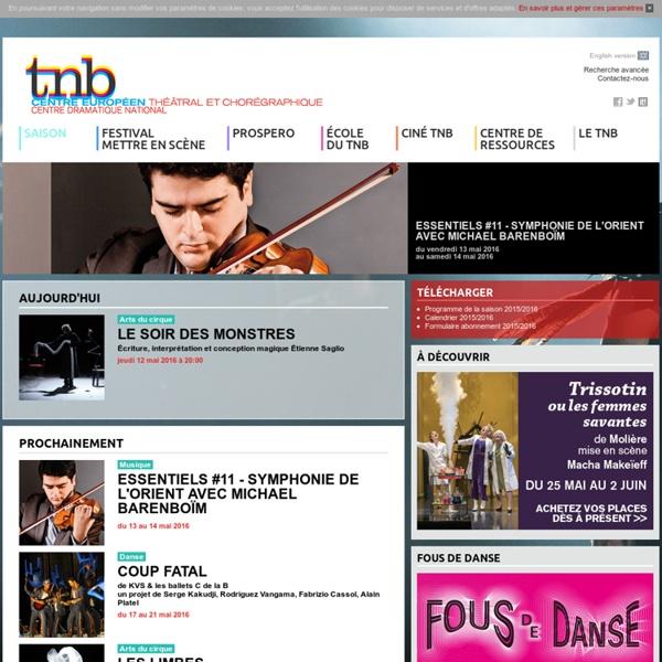 TNB - Centre Européen Théâtral et Chorégraphique