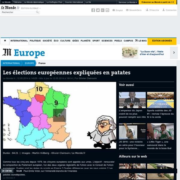 Les élections européennes expliquées en patates