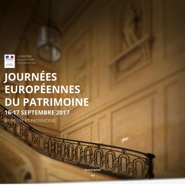 Accueil - Journées européennes du patrimoine