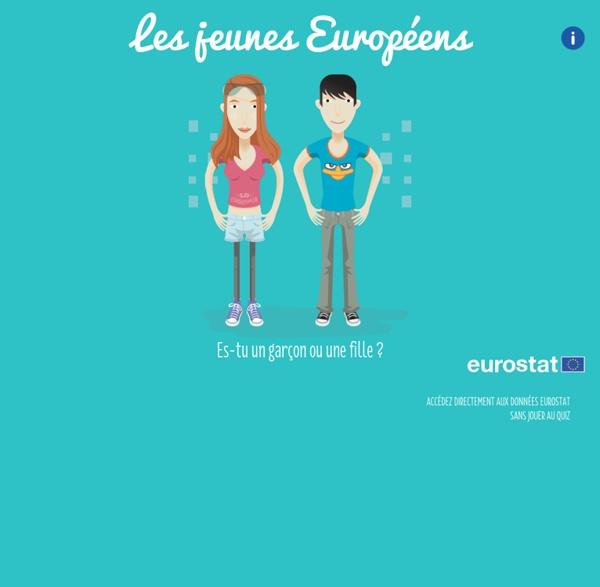 Eurostat jeunes européens