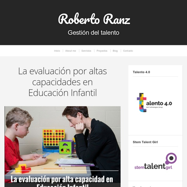 La evaluación por altas capacidades en Educación Infantil