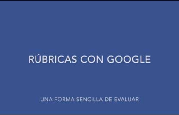Evaluar rúbricas con Google