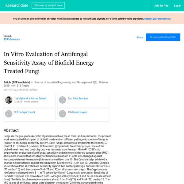 Antifungal Susceptibility Testing for Candida