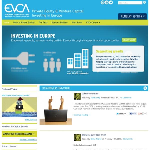 EVCA - Home